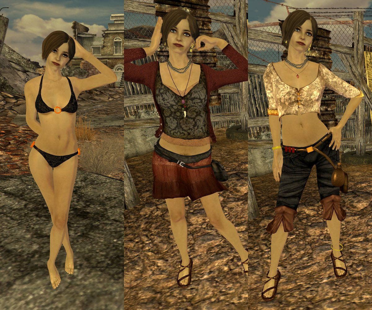 RELZ] Type N Body Replacer by Nessa : Fallout: New Vegas